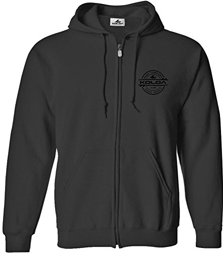 Joe's USA Koloa Surf Thruster Surfboards Logo Full Zipper Hoodies is Sizes S-5XL