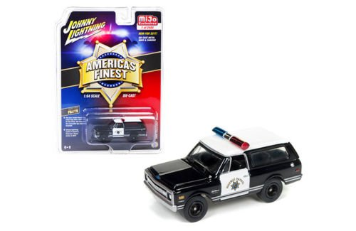 Autoworld CP7027 1969 Chevrolet Blazer America's Finest Highway Patrol Hobby Exclusive Limited Edition to 2400pcs 1/64 Diecast Model Car