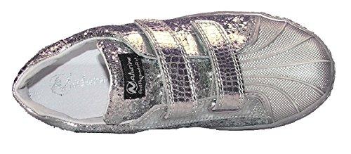 Naturino sneaker con velcro art. 4065 glitterate