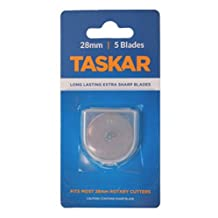 Taskar 28mm Rotary Cutter Blades for Olfa Etc - by Taskar