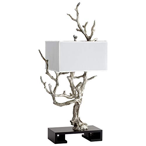 (Silver Tree Branch Table Lamp)