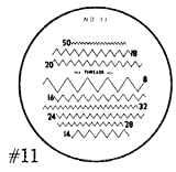 Reticle #11-for 7X Comparator
