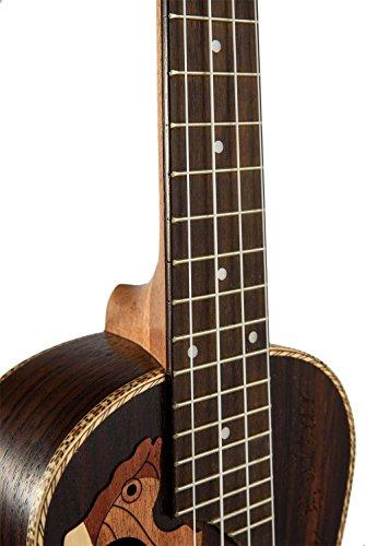 23-inch Hawaii ukulele rosewood professional concert Ukulele send tuner trim folder thick piano bag - Image 3