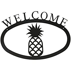 17.5 Inch Pineapple Welcome Sign Large