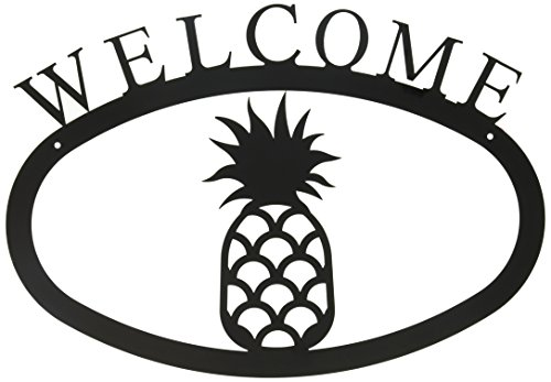 17.5 Inch Pineapple Welcome Sign Large (Welcome Signs Pineapple)