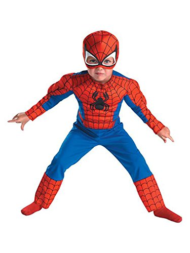 Spiderman Toddler Size: 3T-4T (Red/Blue)(Discontinued by manufacturer) ()