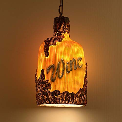 OVIIVO Creative Table Lamp Desk Lamp Chandelier Loft Retro Restaurant Cafe Bar Bowling Resin Sculpture Art Chandelier Using for Reading, Working by OVIIVO (Image #1)