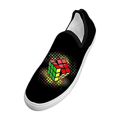 Men's Cute Rubiks-cube Stylish 3D Print Flying sports shoes