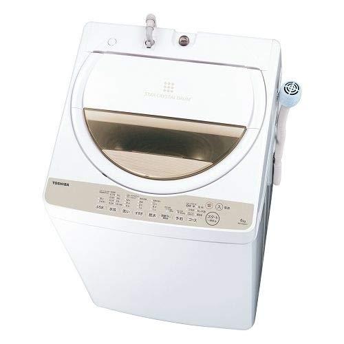 TOSHIBA 全自動洗濯機 AW-6G8