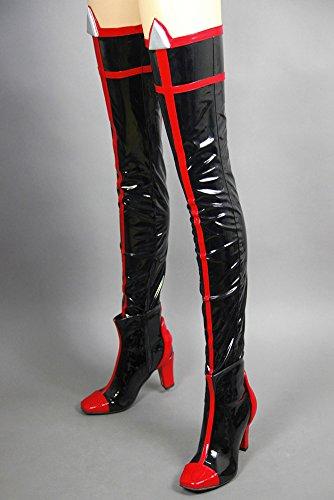 Ryuko Women's la Shoes Black Black Matoi Cosplay Mtxc Kill Hyper Mode Sion Kill dqXEnHw