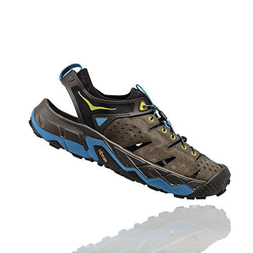 Hoka One One Men's Tor Trafa Hiking Sandal,Major Brown/Black Olive,US 8 M