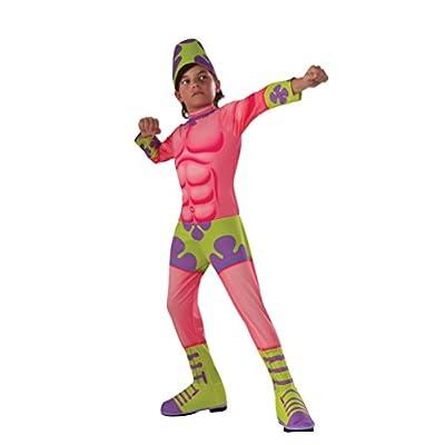 Rubie's Costume SpongeBob Movie Patrick Star Child Costume, Small: Toys & Games