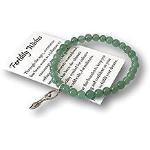Fertility Wishes Gift Bracelet – Infertility Jewelry with Goddess Charm– Fertility Treatment– Yoga Style