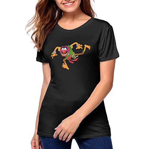 Women Animal Muppets T Shirt Comfortable T-Shirt M Gift Black