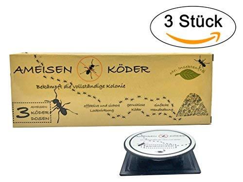 3 opinioni per - Esca per formiche, non tossica, pulita, per locali e giardini, per combattere