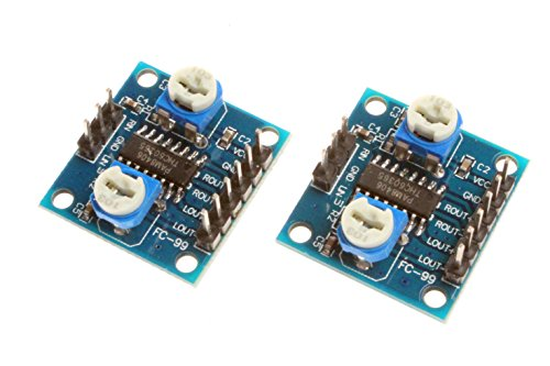 NOYITO PAM8406 Digital Amplifier Board 5W+5W Dual-Channel Stereo Audio Module - 2Pcs
