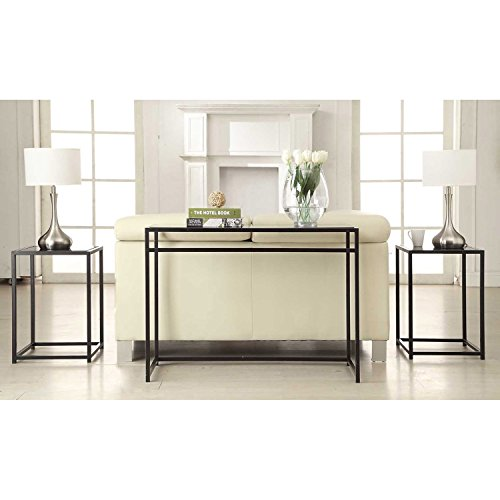 Glass Set Console Table - 4