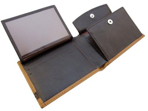 Genuine Mens Card Hazel fold Handmade Elegantly Slim Craftsmen Available Quality Colours by Holder Expert Leather Boxed Credit Hazel Wallet Brown Bi rrF5pXqw