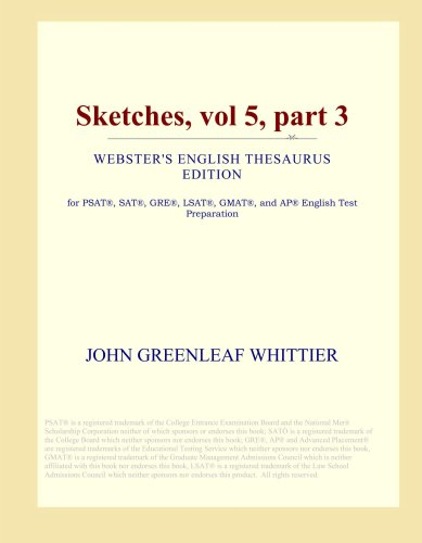 Download Sketches, vol 5, part 3 (Webster's English Thesaurus Edition) ebook