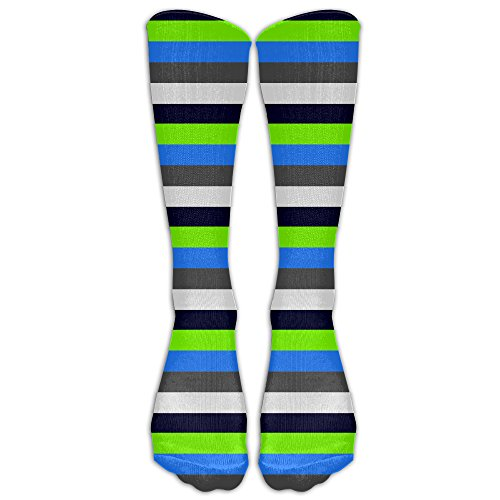 Black Stripecompression Socks Tube Socks Athletic Socks Performance Socks Knee Socks Crew Socks High Socks Basketball Socks Volleyball Socks