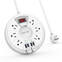 BESTEK round power strip