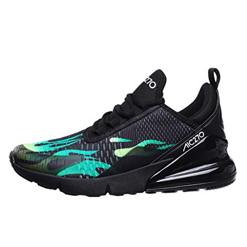 Mens Sneakers Ultra Lightweight Breathable Mesh Street Sport Gym Running Walking Shoes,Londony❤ღ♕Ultimate Running Shoe Green