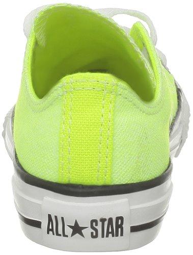Converse Ct Wash Neon Ox 288300-31-7 - Zapatillas de tela para niños Amarillo (Gelb (Neon Jaune))