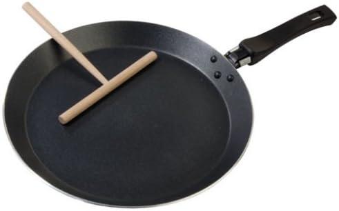 Fackelmann 42463 Pancake Pan 24 cm with Scraper