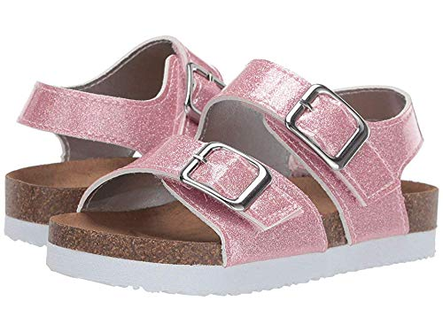 Rachel Kids Baby Girl's Lil Jill (Toddler/Little Kid) Pink Glitter Patent 12 M US Little -