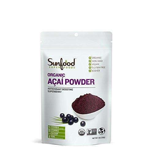 Sunfood Acai Powder, 4 Ounces, Organic
