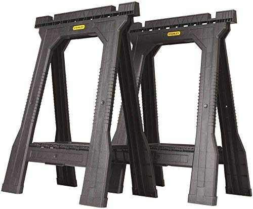 Image of Folding Sawhorse: 5. Stanley STST60952 Jr Folding Sawhorse