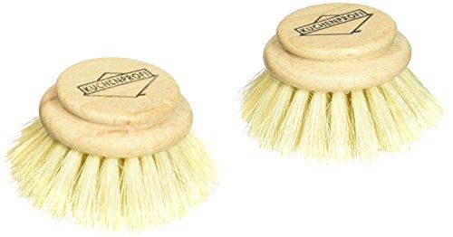 (Kuechenprofi 2-Pack Replacement Brush Refill for Classic Dish Washing Brush)