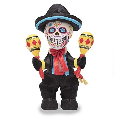 Sing 12' Plush (Cuddle Barn Las Calaveras - Pablo 12'' Skeleton dances to