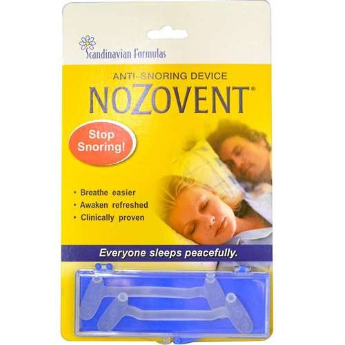 Nozovent Anti Snoring Device By Scandinavian Formulas 2 Oz Buy