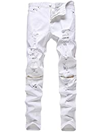 Amazon.com: White - Jeans / Clothing: Clothing, Shoes & Jewelry