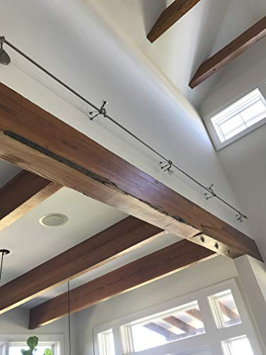- Custom Made Rustic Industrial Beam Mantle | Up-cycled Reclaimed Heart Pine