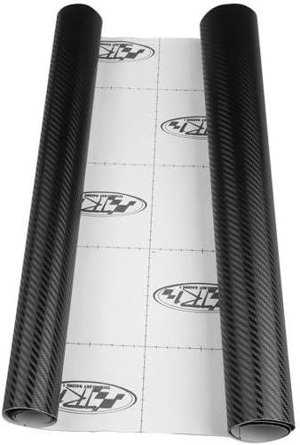 Easy Provider® Vinilo Fibra de Carbono 3D Texturado Moldeable 45*152 cm Tunning Coche Moto