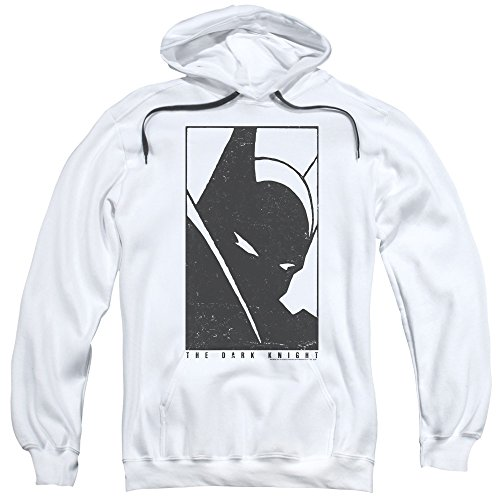 Batman an Icon Unisex Adult Pull-Over Hoodie for Men and -