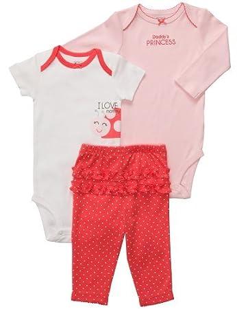 795b96ac92c Carter s Baby Girls  3 Pc Turn Me Around Set - Poppy Ruffle Dot - Newborn  Size  Newborn Color  Poppy Ruffle Dot