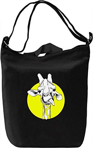 Girafe Borsa Giornaliera Canvas Canvas Day Bag  100% Premium Cotton Canvas  DTG Printing 