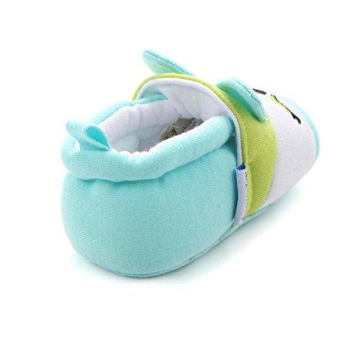 Hunpta Cute Baby Soft Shoes Schuhe Fring weich soled nicht-Slip Schuhe Grün