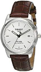 Tissot Men's T0494071603100 PR 100 Silver Automatic Dial Watch