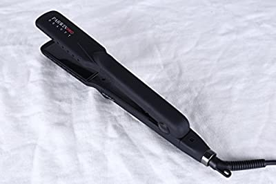 PARWIN PRO Diamond Tourmaline Ceramic Wet & Dry Flat Iron, Dual Voltage 110-240V, Use on Wet or Dry Hair, Create Soft Shiny Hair, Healthy, Heats Up Instantly, Black