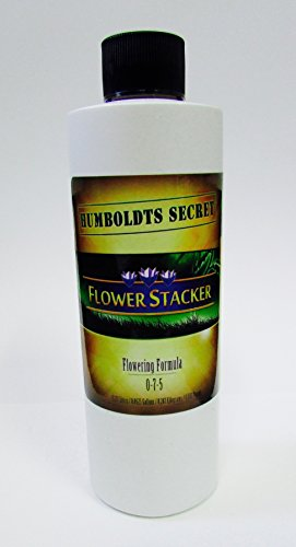Plant Food Flowering (Humboldts Secret Best Flowering Plant Food Flower Stacker - Let Your Flowers Mature To Their Maximum Potential (8 Ounce))