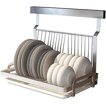 Amazon Com Ctystallove Foldable Stainless Steel Dish