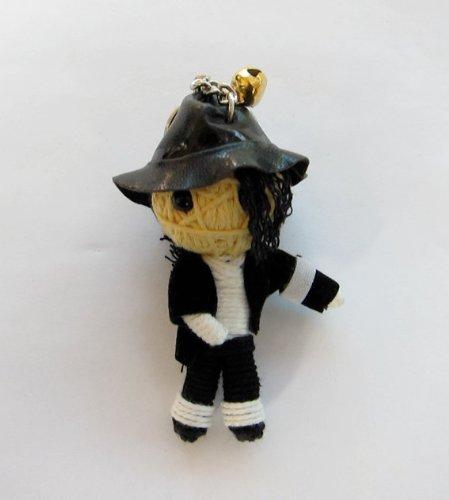 Michael Jackson King of Pop Voodoo String Doll - Shades Jackson Michael