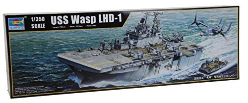 trumpeter 1/350 Amphibious Assault Ship LHD-1 Wasp 05611