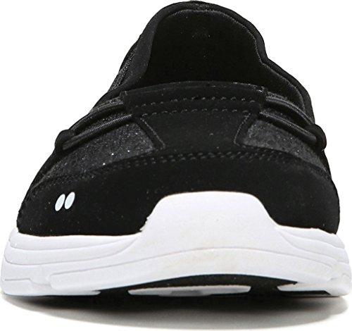 Ryka Jenny de la mujer moda Zapatillas Negro/Blanco