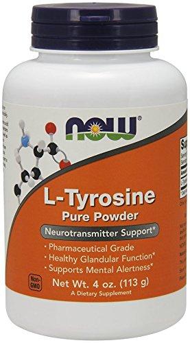 NOW Foods NOW 00265 L Tyrosine 4 Ounce