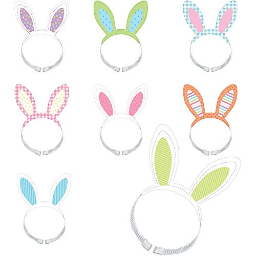 Amscan Easter Bunny Headbands for Adults, Gifts and